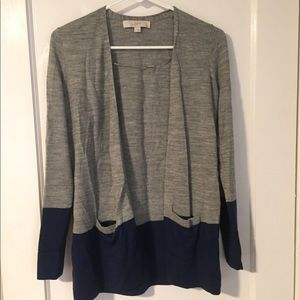 Loft Colorblock Cardigan